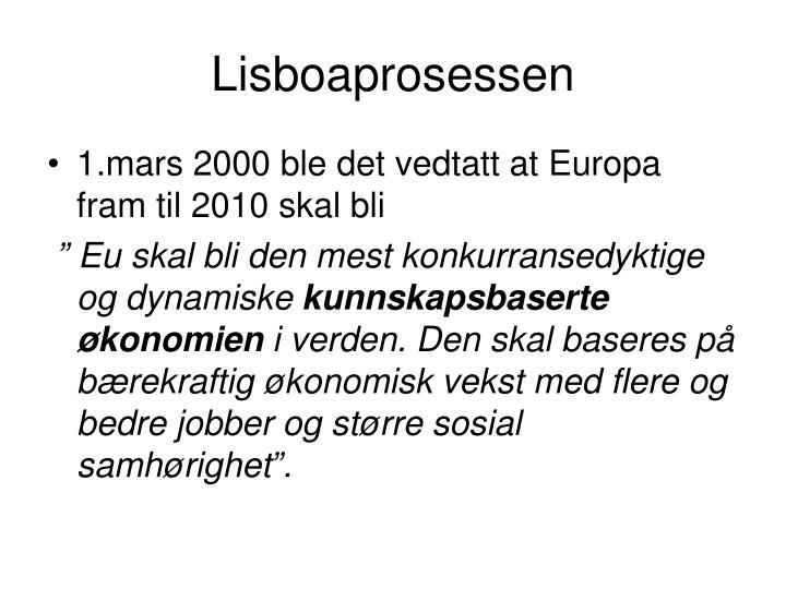 Lisboaprosessen