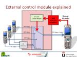 external control module explained