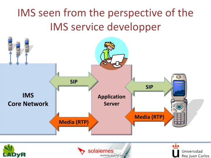 IMS seen from the perspective of the IMS service developper