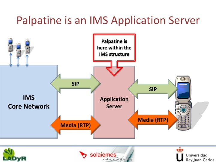 Palpatine is an IMS Application Server