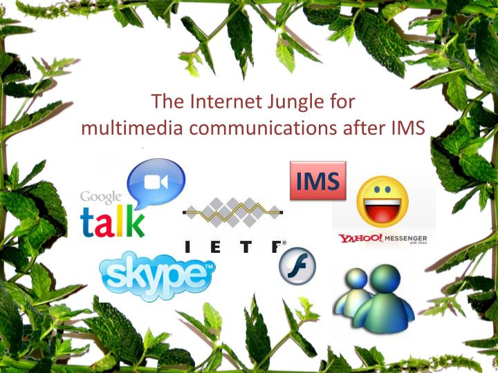 The Internet Jungle for