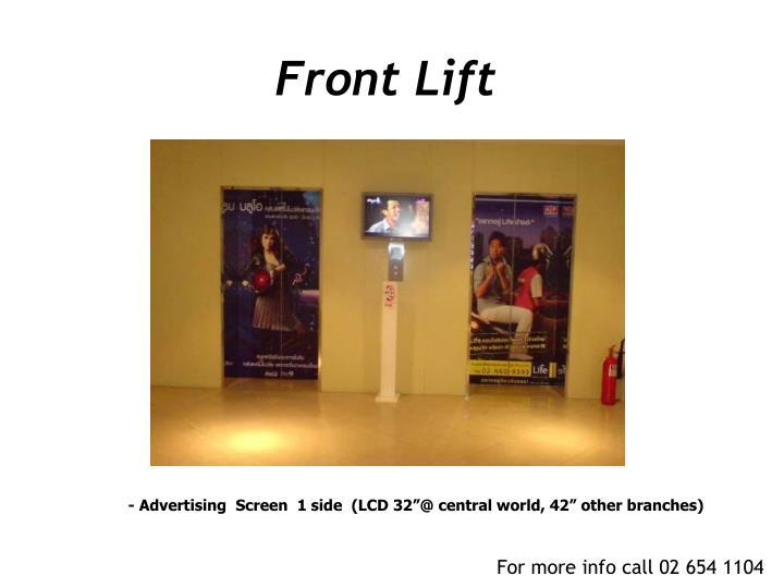Front Lift