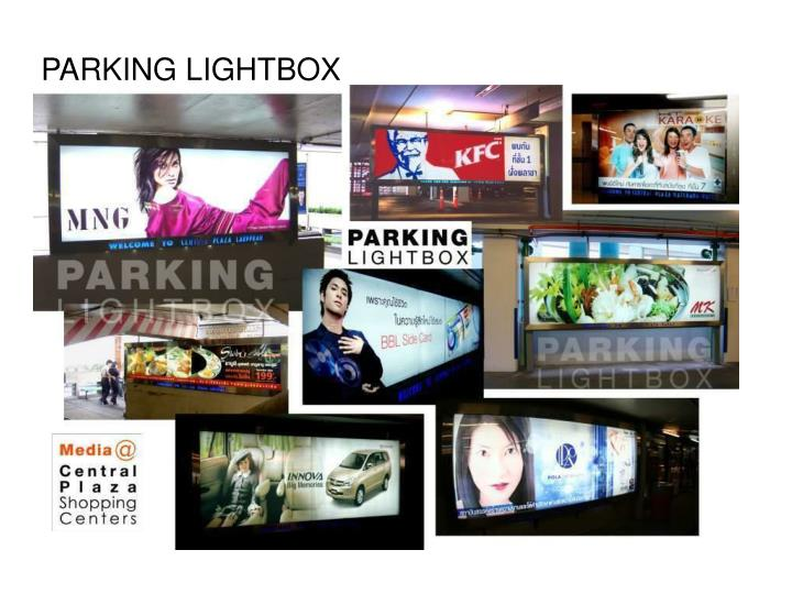 PARKING LIGHTBOX