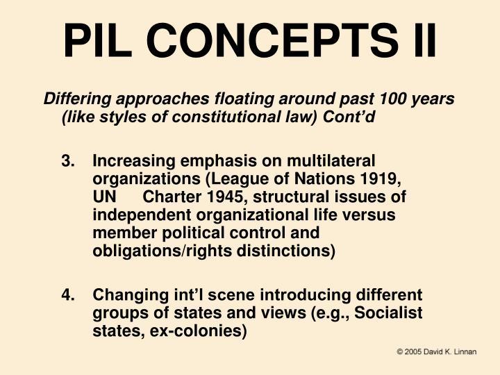 PIL CONCEPTS II
