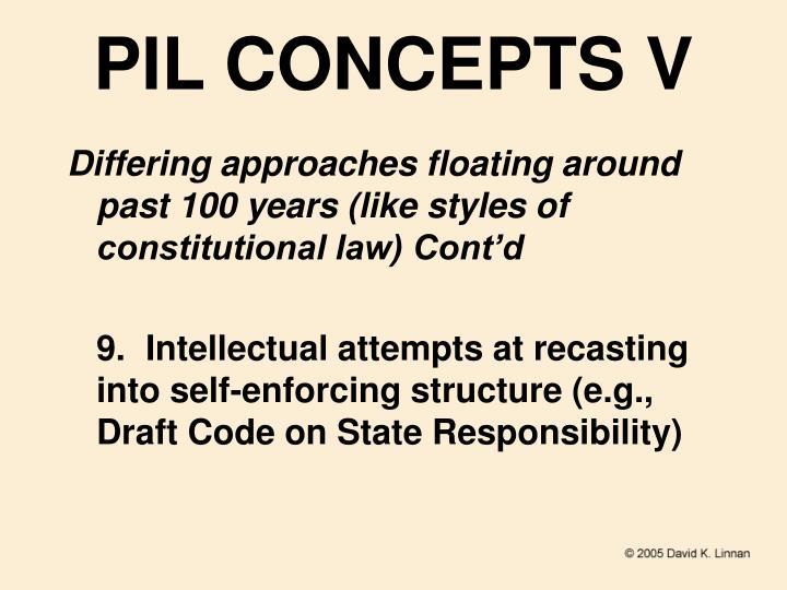 PIL CONCEPTS V