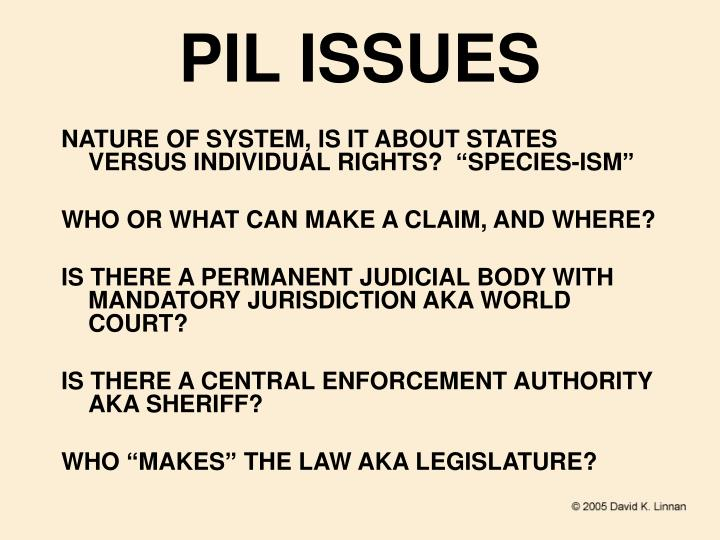 PIL ISSUES