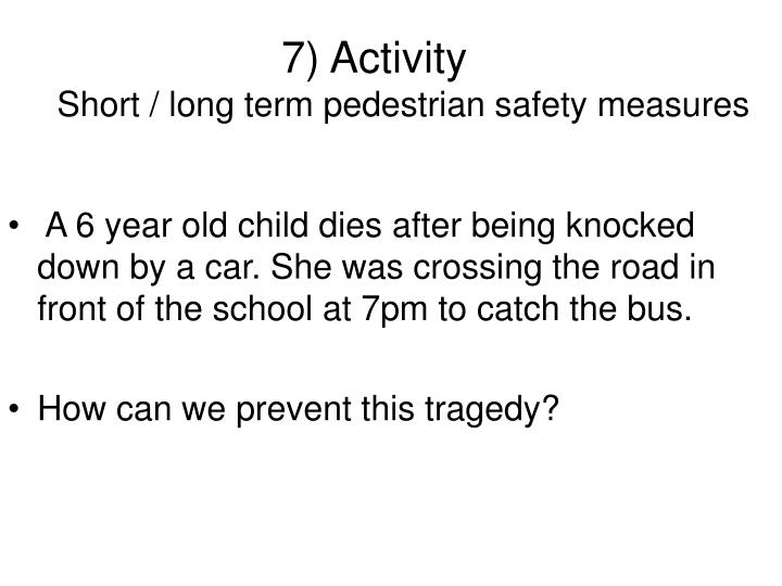 7) Activity