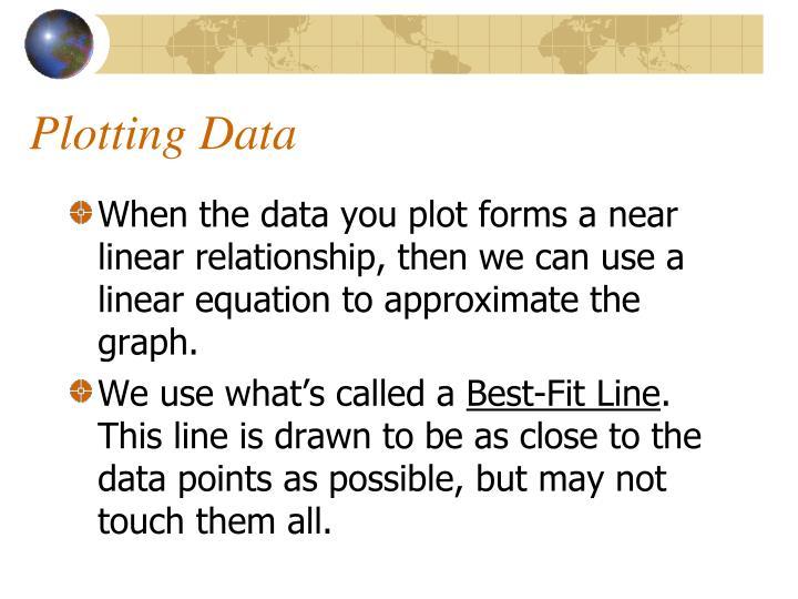 Plotting Data