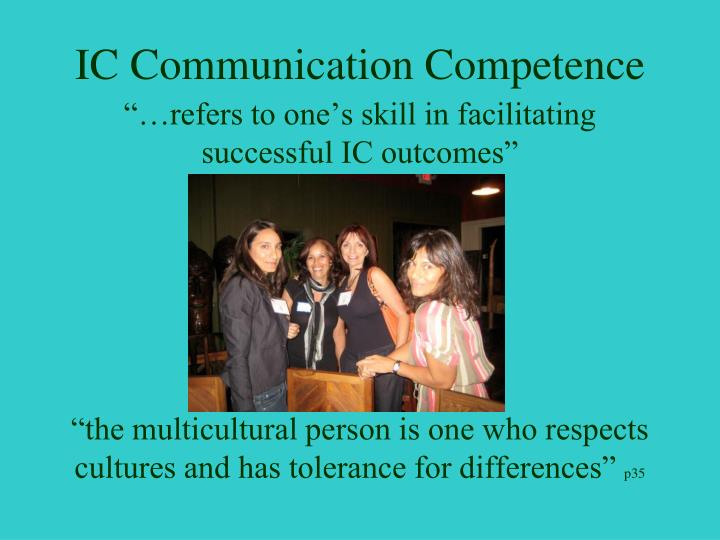 Ic communication competence