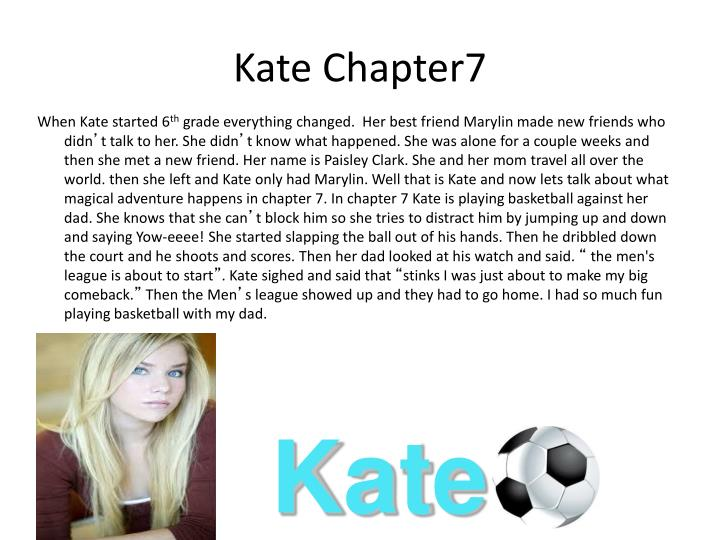 Kate Chapter7