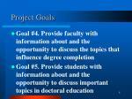 project goals2