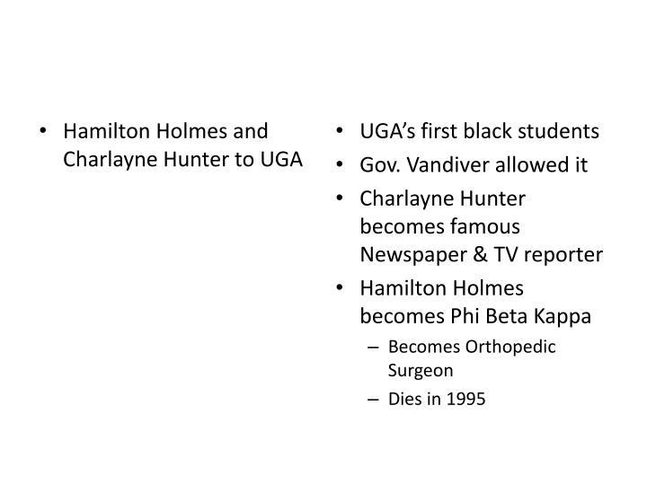 Hamilton Holmes and