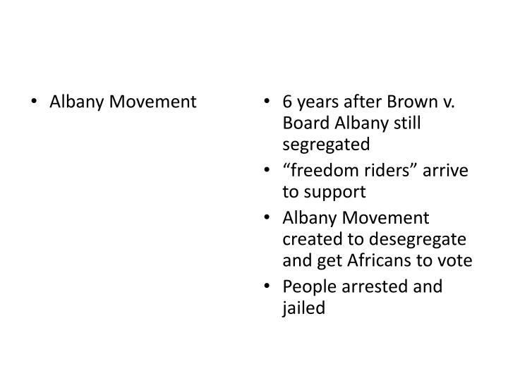 Albany Movement