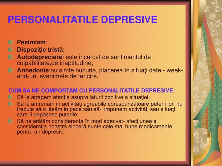 PERSONALITATILE