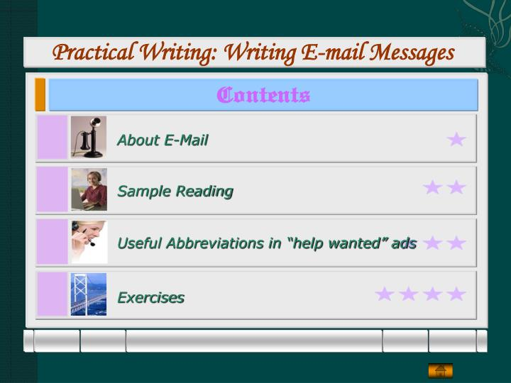 About E-Mail