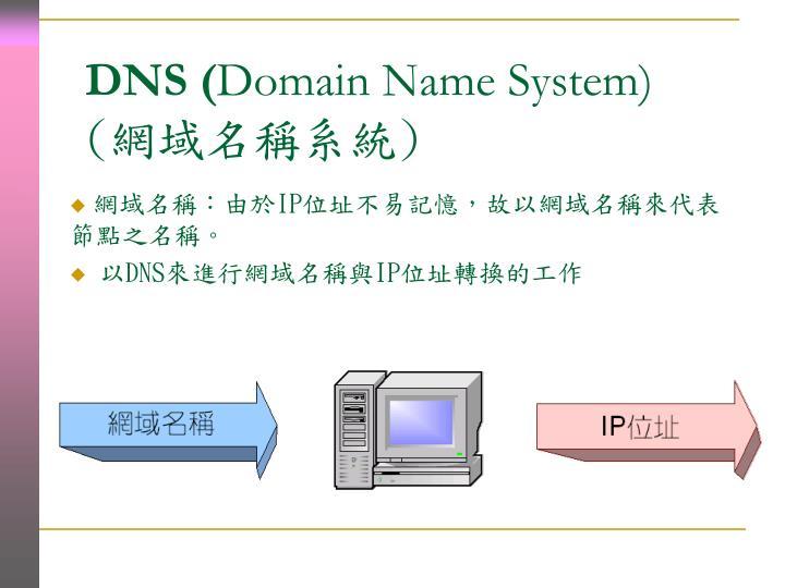 DNS (