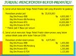 jurnal pencatatan biaya produksi1