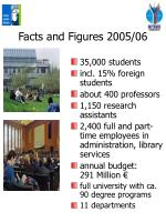 facts and figures 2005 06
