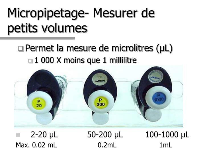 2-20 µL    50-200 µL         100-1000 µL