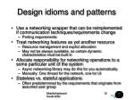 design idioms and patterns