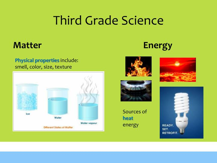 Third Grade Science
