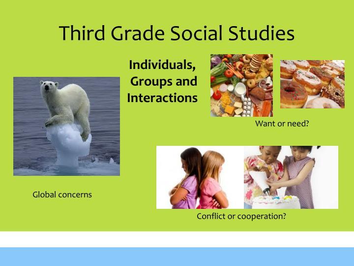 Third Grade Social Studies