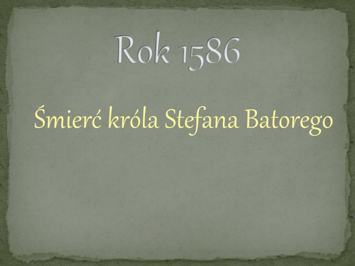 Rok 1586