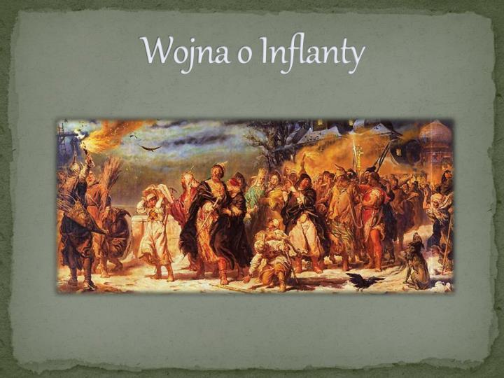 Wojna o Inflanty