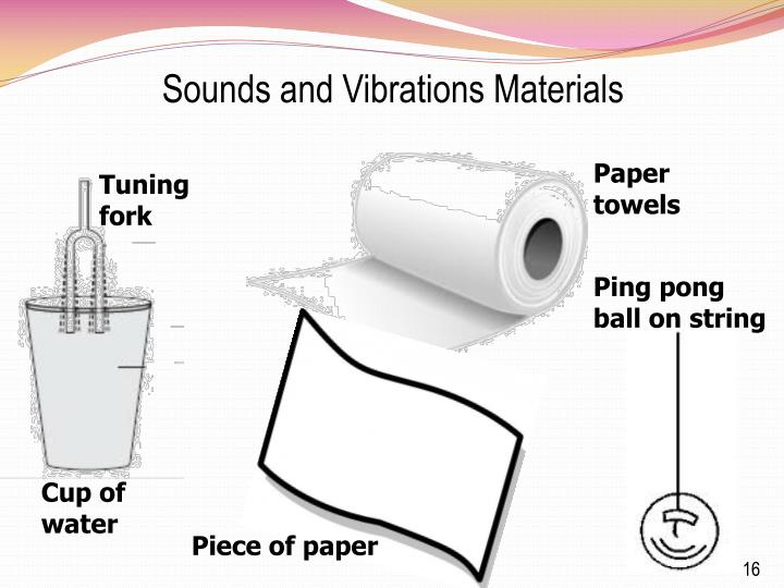 Sounds and Vibrations Materials