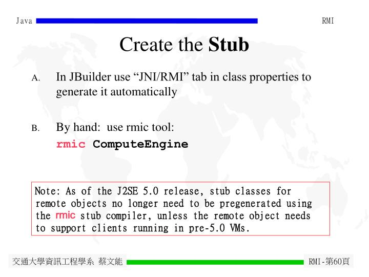 Create the