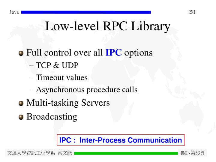 Low-level RPC Library