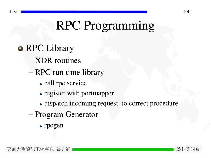 RPC Programming