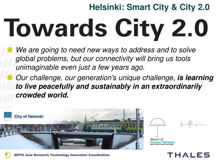 Helsinki: Smart City & City 2.0