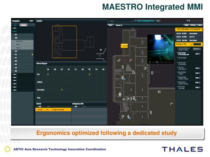 MAESTRO Integrated MMI