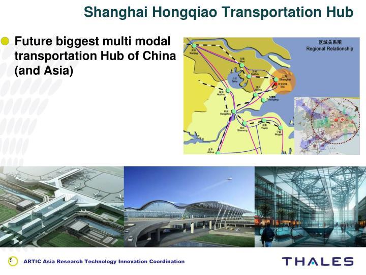 Shanghai Hongqiao Transportation Hub