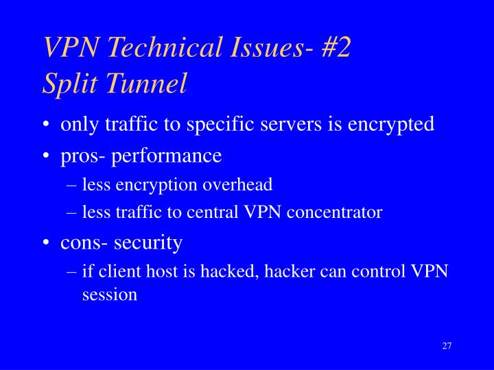 VPN Technical Issues- #2