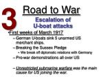 road to war2