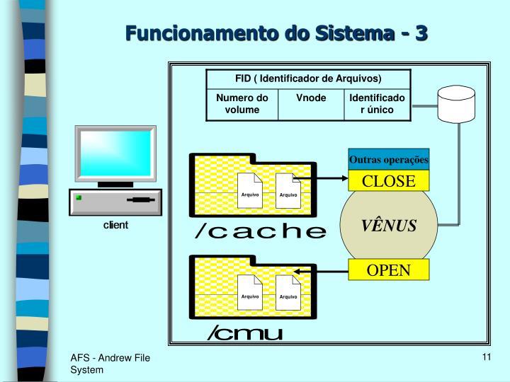 FID ( Identificador de Arquivos)