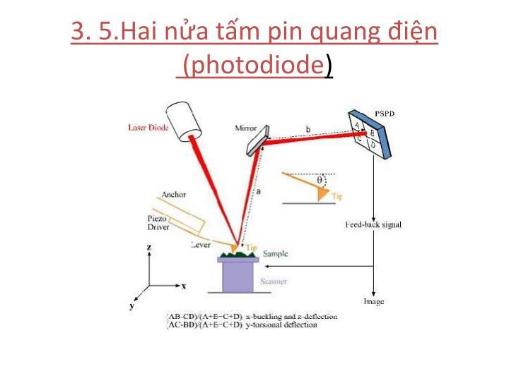 3. 5.Hai nửa tấm pin quang điện