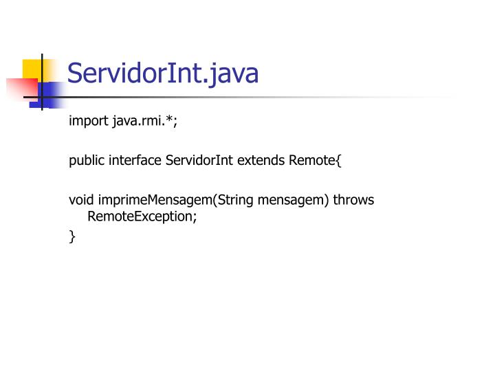 ServidorInt.java