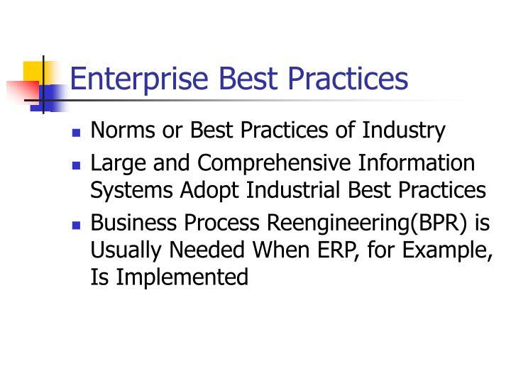 Enterprise Best Practices