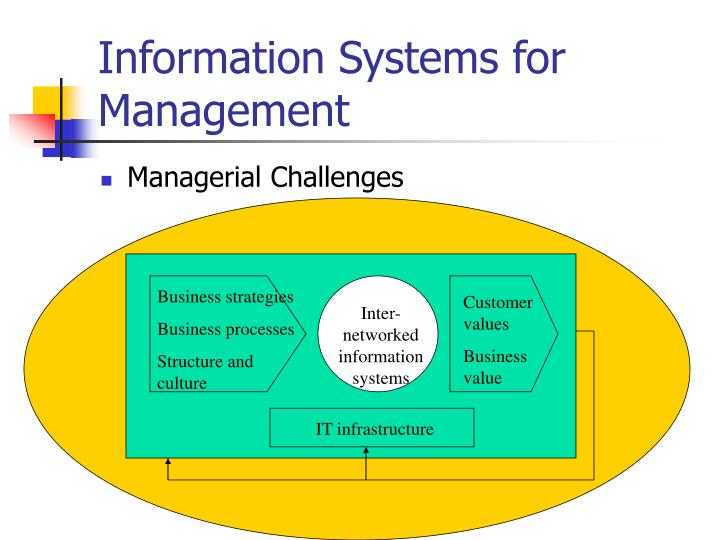 Information Systems for Management