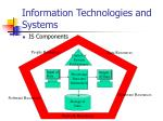 information technologies and systems6