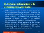 10 sistemas inform ticos y de comunicaci n apropiados