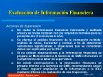 evaluaci n de informaci n financiera