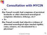 consultation with mycin4