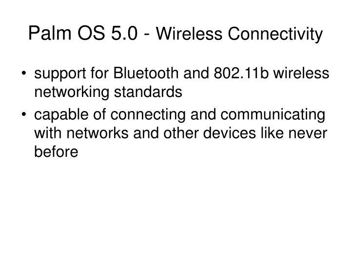 Palm OS 5.0 -