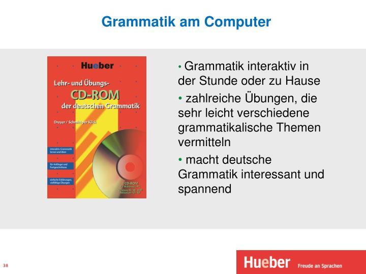Grammatik am Computer
