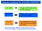 summary combining the technology components