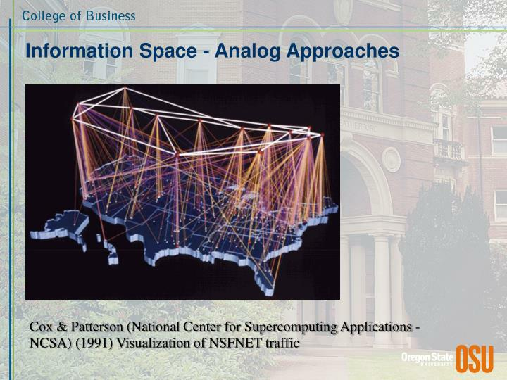 Information Space - Analog Approaches